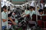 Footwear production, a major downstream sector for MDI