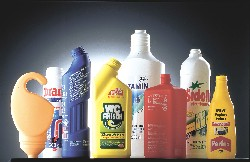 Bottles manufactured from HDPE (Source: LyondellBasell)