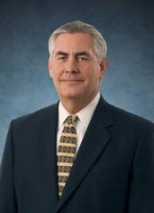 ExxonMobil Chairman and CEO, Rex Tillerson (Source: ExxonMobil)