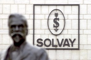 Bust of Ernest Solvay (Source: Raphael Cardinael/Rex Features)