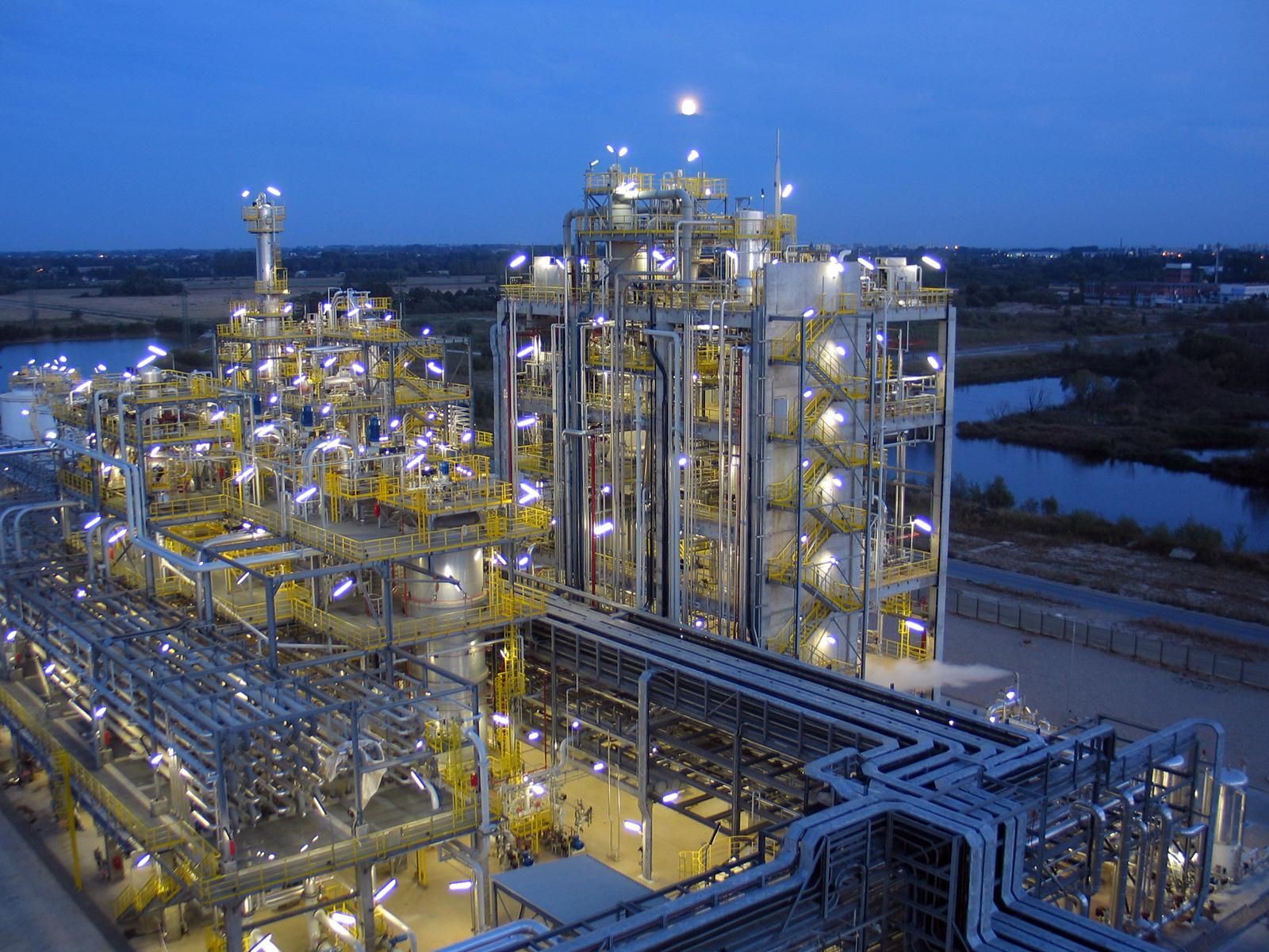 LyondellBasell produces 320 tonnes/year of Hostalen ACP resins at the Basell Orlen Polyolefins plant in Plock, Poland. (Source: LyondellBasell).