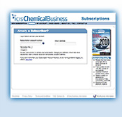 ICIS Chemical Business subscriber centre