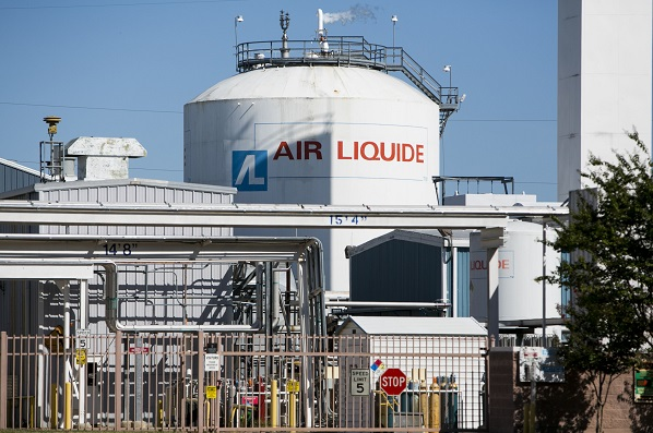 If finalised, the acquisition will create the world's largest industrial gas company by sales and put Air Liquide in the No 1 position in the US. (ddp USA/REX Shutterstock)