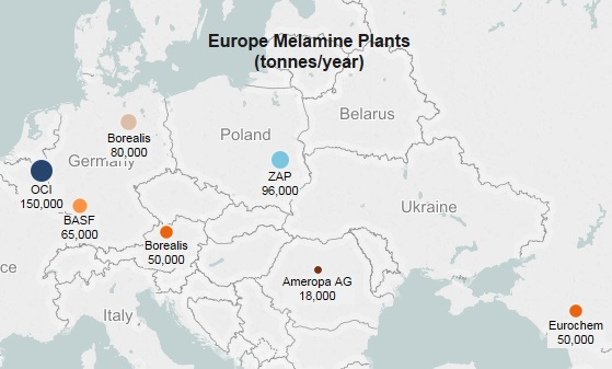 Eurochem melamine plant at full capacity after turnaround - ICIS Explore