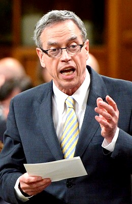 Joe Oliver, House of Commons on Parliament Hill, Ottawa, Canada - 12 May 2014 (Canadian Press/REX/Shutterstock)