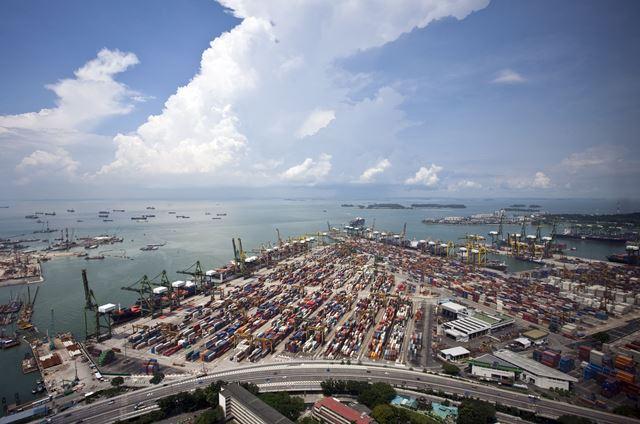Port of Singapore 26 October 2016