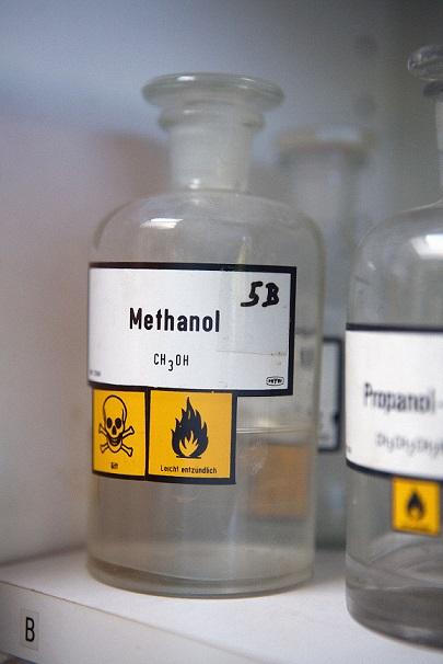 Methanol bottle 5 May
