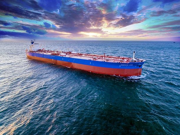Oil tanker in China