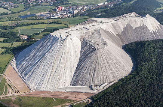 Potash mine in Germany