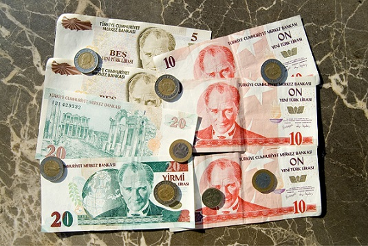 Lira Notes and Coins