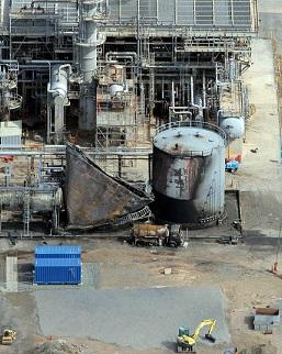 Pembroke refinery fire.