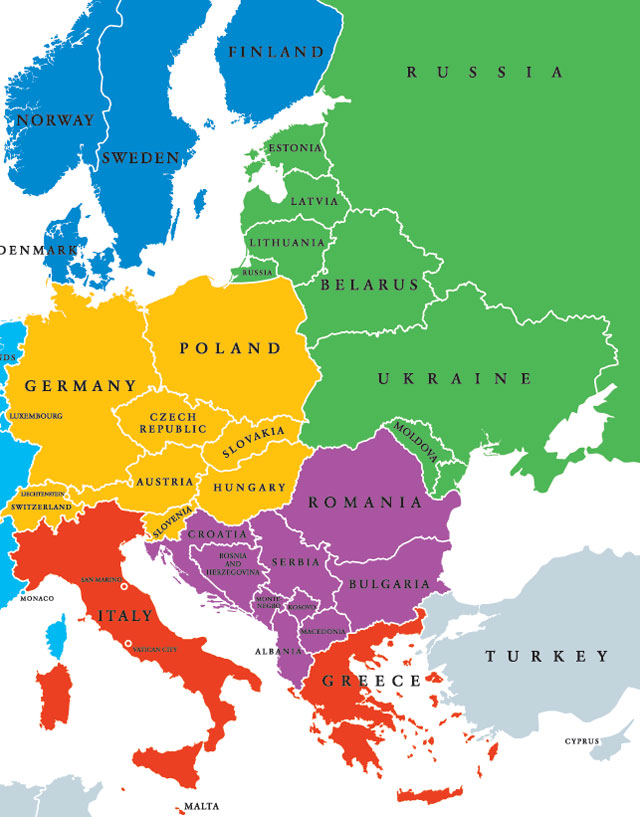 Middle europe investments romania map forex adr calculator