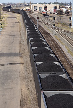 US coal train