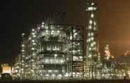 Borouge plant at night