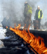 Rail issue heats up