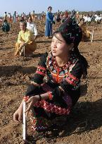Plantng jatropha in Myanmar