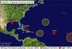 Gustav makes landfall on Louisiana coast - NHC