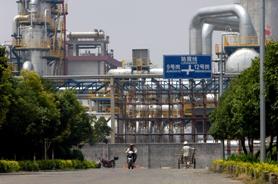 Sinopec Zhenhai Refining and Chemical Co.Ltd (ZRCC) in Ningbo, Zhejiang province, China. (Source: Lou Linwei/Rex Features)