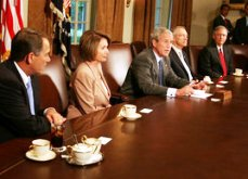 Bush meeting with members of Congress on Thursday