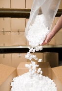 Polystyrene is used in packaging applications