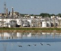 Dow plant at Midland Michigan