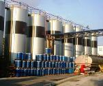 petrochemical storage tanks
