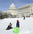 Record snow hits US