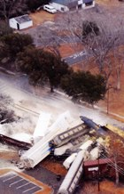 January 2005 rail wreck & chlorine spill that killed nine