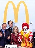 Ronald McDonald at the NYSE