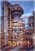 Shell ethylene plant in Norco, Louisiana