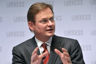 LANXESS Chairman Axel Heitmann