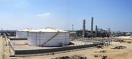 EMethanex methanol product tanks in Damietta