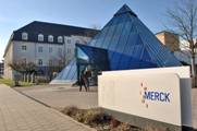 Merck KGaA headquarters in Darmstadt, Germany. (Image provided by in Merck KGaA)