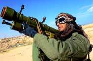 Violent political unrest in Libya