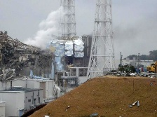 The Fukushima nuclear power plant