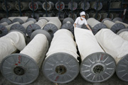 China's manufacturing sector is expected to slow down through the rest of 2011 because of softer demand from overseas markets.