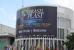 The Brasilplast trade fair in Sao Paulo