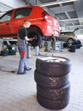 Environmentally friendly rubber oil can soften tyres