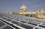Solar panel on the roofs of The Vatican