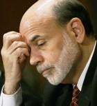 Fed Chairman Bernanke testifying before Congress