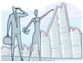 An economic chart