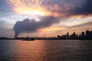 Blaze at Shell Singapore