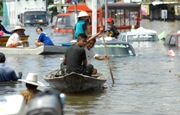 Thailand is hit by worst-ever floods in the last 50 years