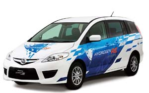 Mazda Hydrogen powered car, Mazda