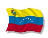 The flag of Venezuela