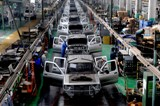 Automobile production at Henan province in China.