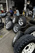 BR is used in the manufacture of tyres for the automotive sector.