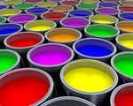 Solvents are used in paints.