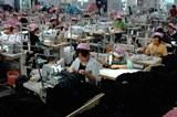 China textile factory at Yixing city in Jiangsu