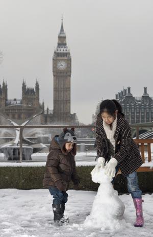 London snow, Rex Features